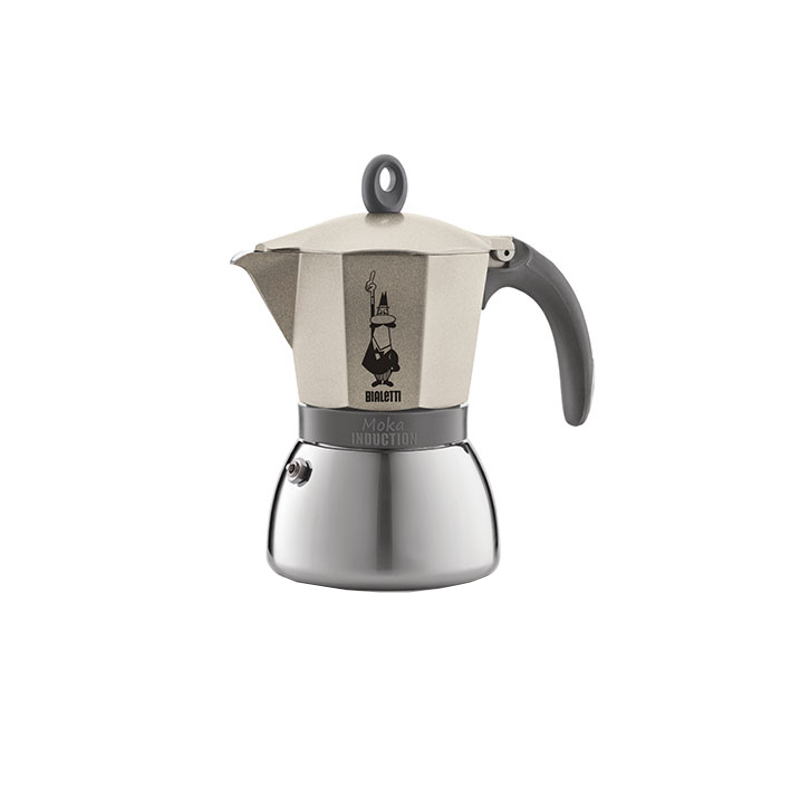 Moka Induction Gold, 3-ių espresso puodelių