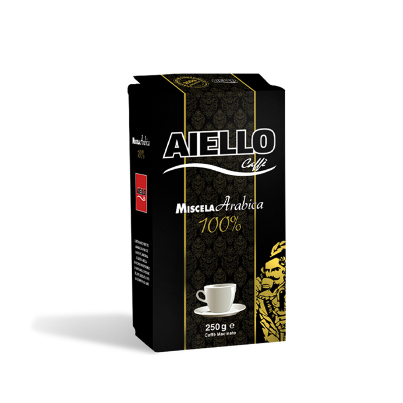 Miscela Arabica 100%, 250 g, malta