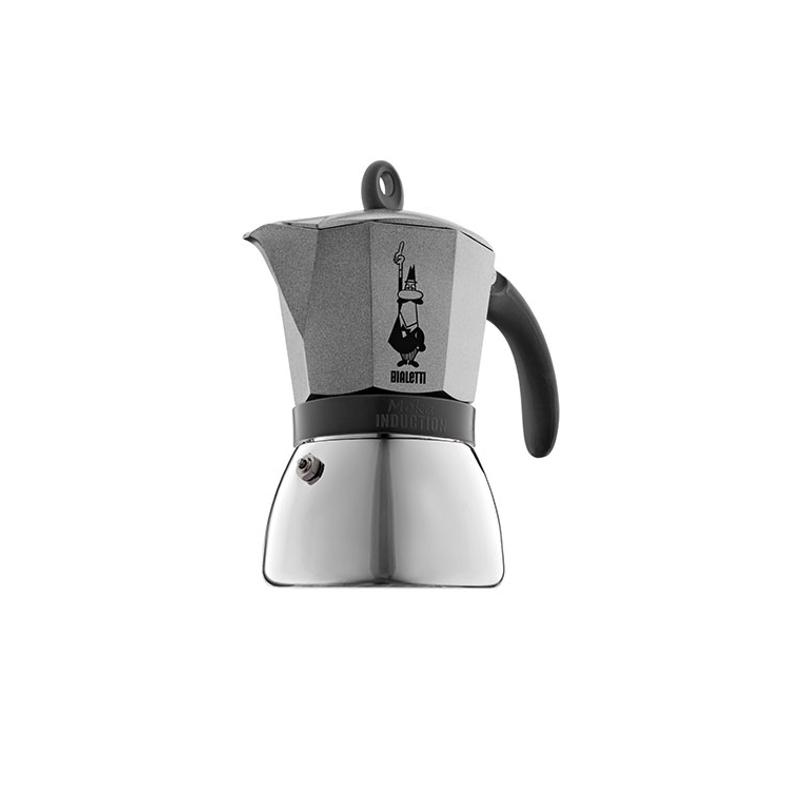 Moka Induction Antracyt, 3-ių espresso puodelių