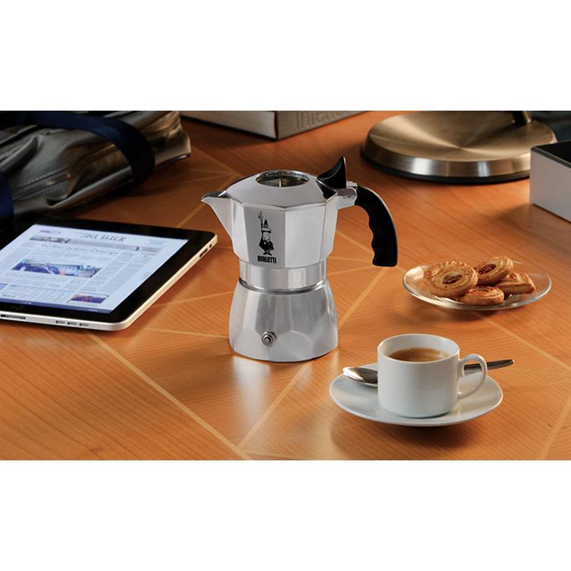Moka Brikka Elite, 4-ių espresso puodelių