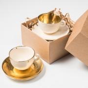'Auksinių' puodelių rinkinys