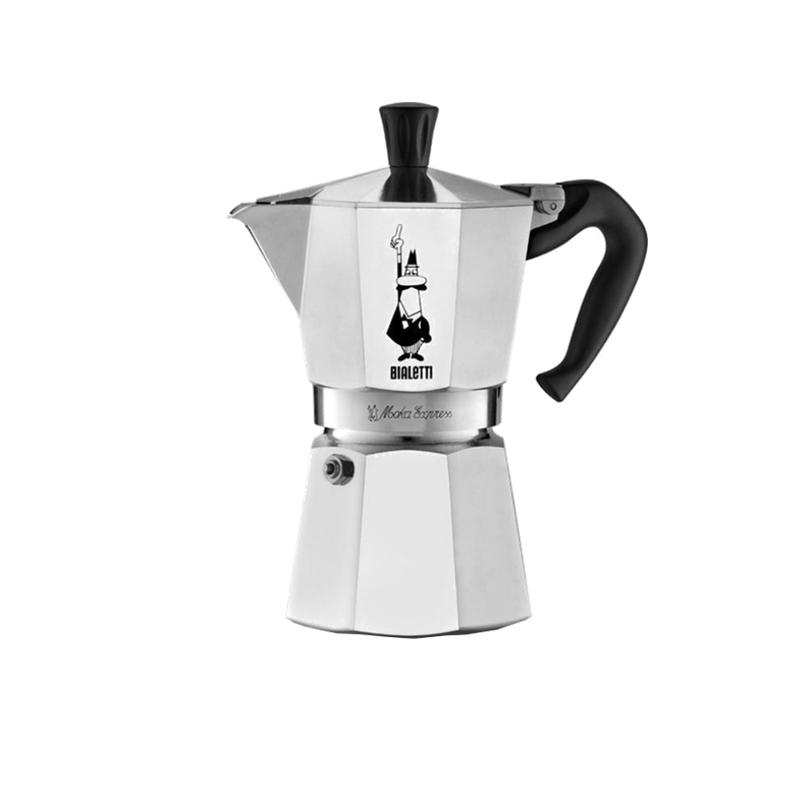 Bialetti Moka Express, 6-ių espresso puodelių